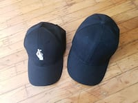 Black hats both from yes style $4 for both Vancouver, V5S 2N8