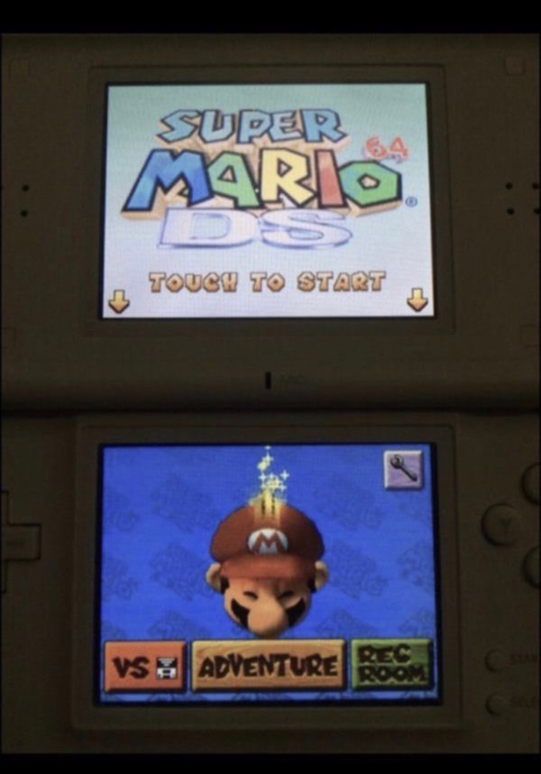 *Super Mario 64 DS Game only
