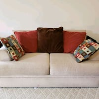 brown fabric 2-seat sofa Kensington, 20895