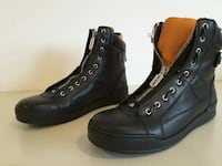 black leather front zip boots Guildford, 2161