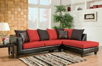 BRAND NEW Red And Black Sectional!  Smyrna, 30080