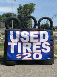 $20 Used Tire Blow Out Sale! Madison Heights