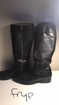 Frye tall leather boots 8.5 almost new Gloucester, 01930