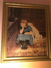 Victorian era painting Belcamp, 21017