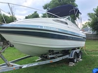 Thompson carrera 225 body with 265 engine,gps,fish finder and depth finder. Two way radio, space for 3 to sleep, bathroom. Price is firm I've spent over 15 on it Alexandria, 22314