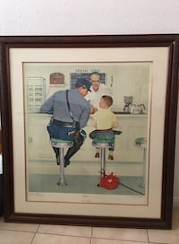 The Runaway by Norman Rockwell  Las Vegas, 89117