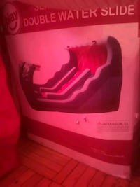 bouncing castle double slide $120 OBO Toronto, M6M 2A1