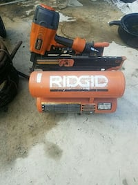orange and black air compressor 37 km