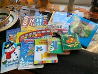 Childrens cardboard page books Catonsville, 21228