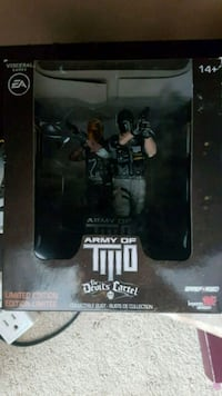 Army Of Two collectible statue. New Westminster, V3M 5J6