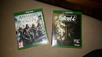 Assassin's Creed Unity og Fallout 4 Xbox One spill