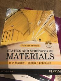 Statics and strength of materials H.W. morrow  Vaughan, L4K