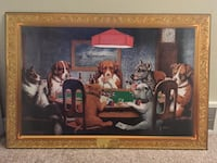 """A Friend In Need"" Dogs Playing Poker Picture Winnipeg, R3X 1C3"