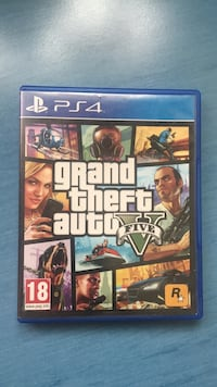 Caso de juego Grand Theft Auto Five PS4 Madrid, 28001