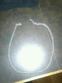 Stainless steel necklace Calgary, T3C 2V3