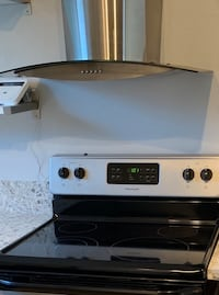 Stainless steel stove vent hood