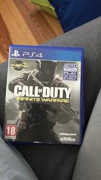 Call of Duty Infinite Warfare PS4 spill tilfelle Oslo, 0758
