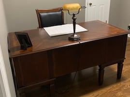 Brand New Office Furniture.... Desk, Chair, Lamp, Filing Cabinet and Bookcase