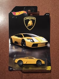 yellow and black Hot Wheels die cast model Vancouver, V5R