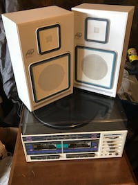 Soundesign record/cassette player combo Waldorf, 20603