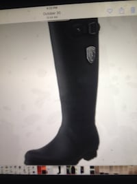 New rubber boots size 8 kamik