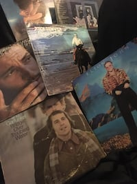 Collection of 50 vinyl records