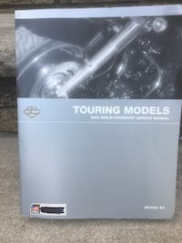 Harley Touring model service manual PN 99483-06 perfect condition Jersey City, 07307