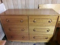 brown wooden 3-drawer chest Armena, T0B 0G0