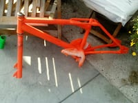 Gt frame with cranks and pedals