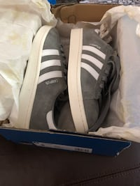 ADIDAS Grey/Gray Campus Shoes - BRAND NEW - Men's size 8 Plano, 75023