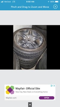 """20"""" 5x114.3 wheels 100 firm if picked today Ogden, 84401"""