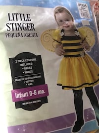 New 0-6 month old Bee Halloween costume  New York, 10012