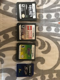 3 DS Games + SD Card New York, 11434