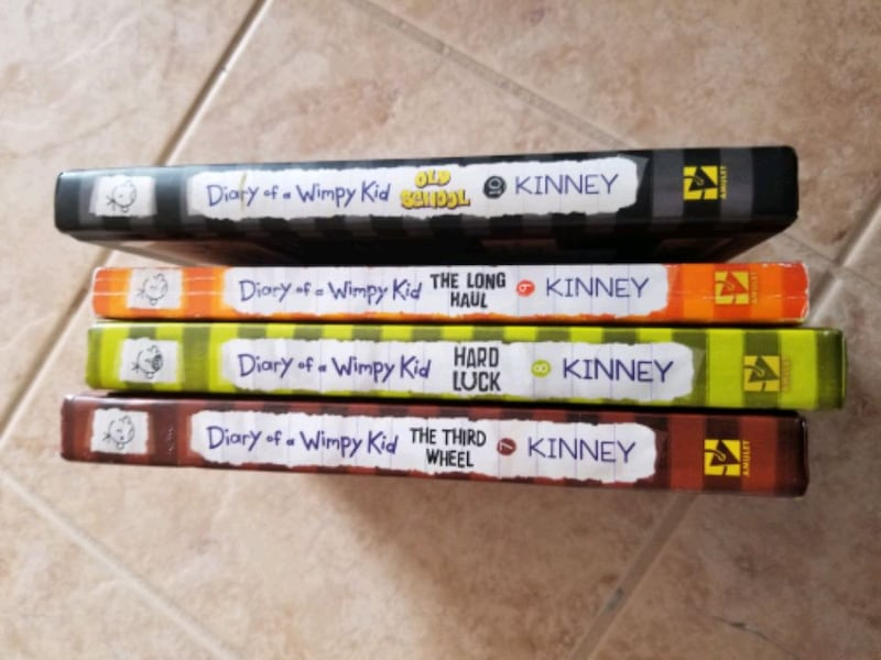 BOOKS - DIARY of the wimpy kid books 7-10 1c84d966-ff89-494a-94c0-a157a1bf4bcf