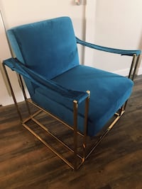 Royal blue/gold chair Corpus Christi, 78401