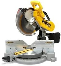 "Dewalt DW718 12"" double bevel miter saw Surrey"