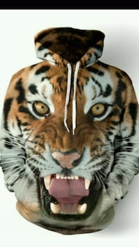BEAUTIFUL TIGER HOODIE
