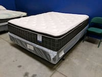 Queen Pillowtop Luxury Mattress Set Bakersfield, 93314