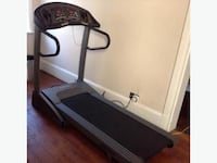 Vision Fitness - Elite T9450 HRT Folding Treadmill Excellent Condition!  Professional Series  Product Description Motor: 2.5HP continuous-duty Cambridge Motor Works™, PWM with fuseless current limit Console: ADVANCED SMART-MATRIX™ HRT®, 4 x One-Touch™ pro Toronto