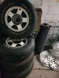 5 Lug Big Bolt Wheels and Tires size 15 464 mi