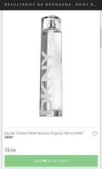 %100 Original DKNY WOMEN 100 ml NEW Madrid, 28028