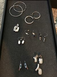 assorted-style earrings lot Fairport, 14450