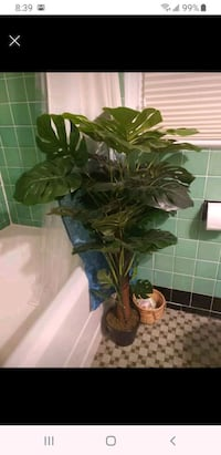 Artificial tropical tree plant