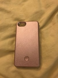 Light up rose gold phone case for iPhone 5 or SE