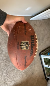 official nfl size football