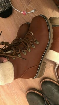 brown leather work boots Gatineau, J8Y 4C6