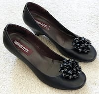 61f0f9c56c1 Used pair of black Tory Burch leather flats for sale in Campbell - letgo