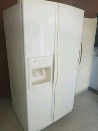 white side-by-side refrigerator with dispenser Bakersfield, 93307