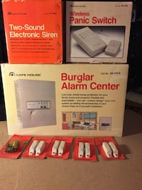 Home burglar alarm center BRAND NEW 386 mi