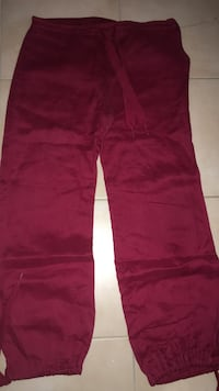 pantalons rouges taille 38
